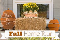 Fall Decorating and Home Tour from Marty's Musings