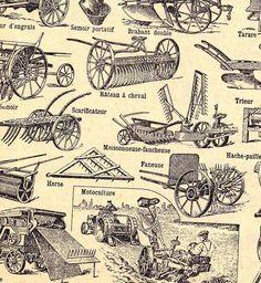Different vintage farm tools | Vintage Ads | Pinterest | Vintage ...