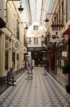 Passage Jouffroy by Bee.girl, via Flickr