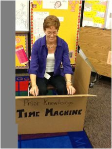 Prior Knowledge time-machine -- helping kids to access what they already know! (also could make it look like a TARDIS! Co Teaching, Teaching Special Education, Teaching Strategies, Elementary Education, Teaching Reading, Teaching Tools, Teaching Ideas, Thinking Strategies, Comprehension Strategies