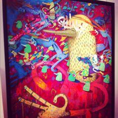 Alëxone Dizac @ Galerie Lefevre