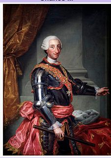 Charles III- king of Spain and Spanish Indies from 1759-1788-tries to rescue empire from decay through wakening the church, promoting science facilitating trade, modernizing agriculture and avoiding wars