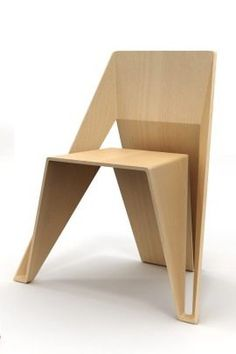 TOKYO CHAIR by SERGEY SHASHMURIN #WoodenChair