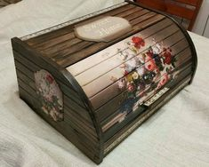 Новости Bread Boxes, Decorative Boxes, House, Home Decor, Decoupage, Decorated Boxes, Craft, Wooden Chest, Bread Baskets
