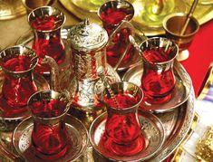turkish tea set - Google Search