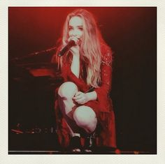 Sabrina Carpenter and her band performed at the Ohio State Fair on Thursday (July 30, 2015). Did you see her there? Miss Carpenter's dad posted this pic