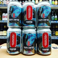 New beer. Shape Shifter - 6.4% West Coast IPA from @fourpure in stock now
