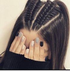 44 Ideas de Peinados Juveniles que te Encantarán Cute Hairstyles For Teens, Easy Hairstyles For Long Hair, Braids For Long Hair, Pretty Hairstyles, Braided Hairstyles, Braided Locs, Updo Hairstyle, Braids For Girls, Long Hair