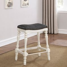 Comfort Pointe Coventry 25 in. Saddle Seat Counter Stool | Hayneedle
