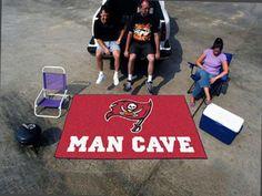 FanMats NFL - Tampa Bay Buccaneers Man Cave UltiMat Rug 60x96