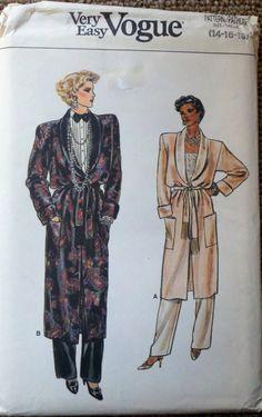 Vintage Womens Sewing Pattern Robe Belt & Pants by Sutlerssundries, $4.99