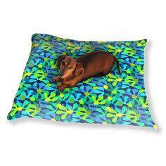 Uneekee Underwater Bloom Dog Pillow Luxury Dog / Cat Pet Bed
