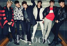 Boys24 Unit White for 1stLOOK magazine part-1 #Boys24 #Jinseob #Doha #Youngdoo…