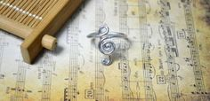 Treble Clef Ring - Fun Family Crafts