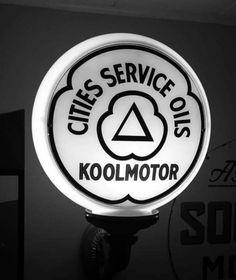 Cities Service Koolmotor Gas Globe