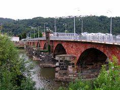 Roman bridge, Trier, Germany by j.labrado, via Flickr