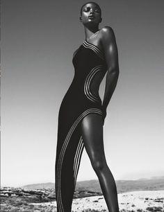 pinterest.com/fra411 #black #beauty - Jeneil Williams by Txema Yeste | 1 Numéro | February 2014