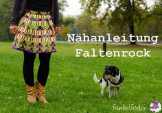 Gratis Nähanleitung Faltenrock