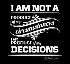 Remember that every day is a chance to make healthy decisions!