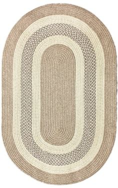 "7'6"" x 9'6"" Oval. $213. This one is the perfect Farmhouse style and the colors are ideal. I also like the idea of a flatweave."