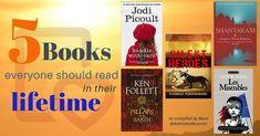 5 Books Everyone Should Read in Their Lifetime by lovely Mani listing 'Silent Heroes' alongside Jodi Picoult, Ken Follett.