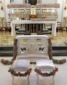 Matrimonio da sogno: l'allestimento dell'altare