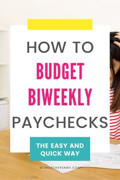 Wondering how to budget your biweekly paycheck? Here are strategies on how to budget biweekly paychecks that you can do for your monthly budget. Budgeting System, Budgeting Finances, Budgeting Tips, Monthly Budget Template, Sinking Funds, Budgeting Worksheets, Living On A Budget, Financial Tips, Pen And Paper