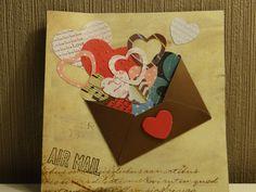 Carte de ma fille pour la saint valentin...