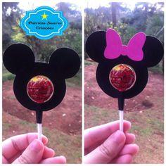 Arquivo Duplo     Modelo de porta pirulito duplo, seja o Mickey ou a Minnie, gostaram?         Segue arquivo:     Porta Pirulito Mickey Min...