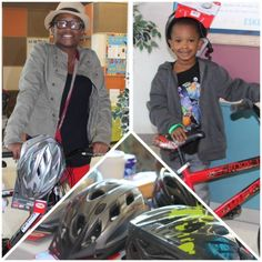 It's #TraumaTuesday! Over the weekend, the Smith Level I Shock Trauma Center at Eskenazi Health provided helmets to some lucky kids who won new bicycles at Eskenazi Health Center Community Day at Eskenazi Health Center Forest Manor.  Practicing simple safety precautions while riding your bicycle can reduce your risk for injury. It is estimated that wearing a helmet can decrease the risk of severe brain injury from a bike accident by 88 percent. Buckle one on before your next ride this fall!