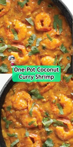 one-pot coconut curry shrimp Chicken Parmesan Casserole, Easy Chicken Parmesan, Spinach Stuffed Chicken, Golden Mushroom Soup, Coconut Curry Shrimp, Real Food Recipes, Healthy Recipes, Unsweetened Coconut Milk, Chicken And Dumplings