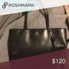 Black kate spade purse Black smooth leather kate spade purse kate spade Bags