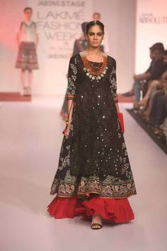 Lakmé Fashion Week – Jabong Presented 'Sangria' The Vibrant Fusion Collection At Jabong Stage During Lakmé Fashion Week Winter/Festive 2015