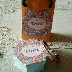 Una pulsera con mensaje para Toñi