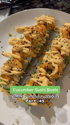 Seafood Recipes, Keto Recipes, Dinner Recipes, Cooking Recipes, Healthy Recipes, Sushi Recipes, Healthy Meal Prep, Healthy Cooking, Healthy Snacks