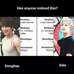 HOLY MOLY. The funny thing is that they also look alike