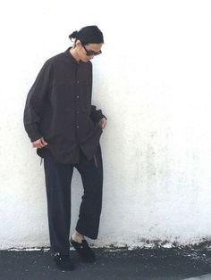 やや暑い w.118 shirts:Y's for men pants:issey miyake