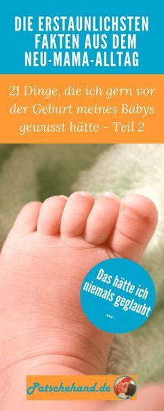 Erstaunliche Fakten aus dem Neu-Mama-Alltag: Vom ständigen googlen am Smartphone über Stillprobleme bis zu vor Müdigkeit schreienden Babys