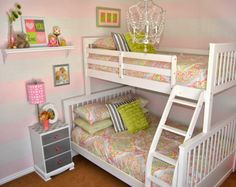 An Interior Designer's Step-by-step process in decorating this beautiful little girl's room.