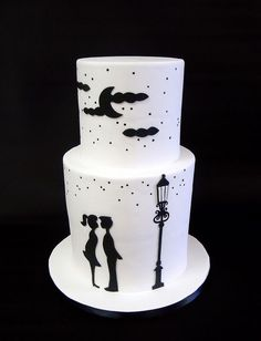 Simple fondant cake designs - for beginners!
