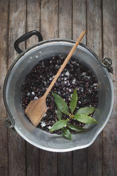 Blackcurrant and Bay Leaf Jam - The Seasonal Table