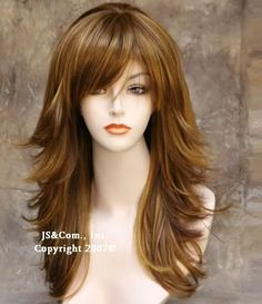 Long shag haircut