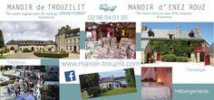 Manoirs de Trouzilit et Enez Rouz Brest, Le Site, Le Moulin, Desktop Screenshot, Guide, Fireworks, The Mansion, Manor Houses