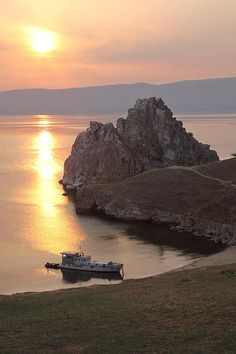 Shaman's Rock Burkhan, Irkutsk. Russia. Igors Parhomciks
