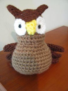 owl sponge stuffed toy Stuffed Toy, Owl, Beanie, Crochet, Hats, Hat, Owls, Beanies, Knit Crochet