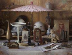 Painting by Joseph Todorovitch