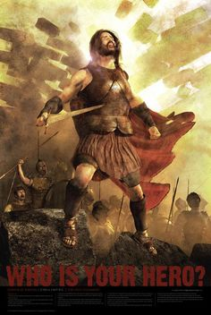 The Prophet/General, Joshua.  He led the Israelites into the promised land, after Moses departed