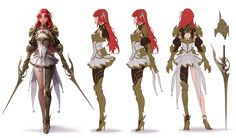 ArtStation - Crimson Elf, geumsil lee