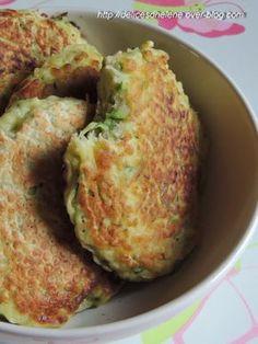 Toujours à la recherche de nouvelles idées pour incorporer des légumes dans mes assiettes, je me suis laissé tenté par cette recette cette fois-ci, à mi-chemin entre la galette et la crêpe épaisse... Pour 6 à 8 galettes 1 courgette 200g de farine 1 sachet...