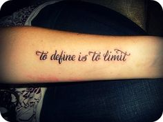 """I want this quote. """"To define is to limit."""" -the Picture of Dorian Gray by Oscar Wilde"""